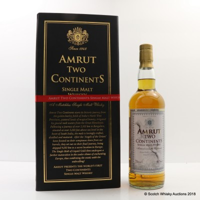 Amrut Two Continents 1st Edition