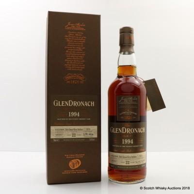 GlenDronach 1994 22 Year Old Single Cask #3379