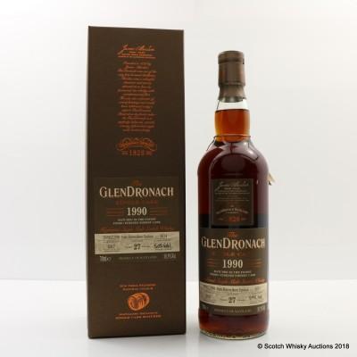 GlenDronach 1990 27 Year Old Single Cask #1014