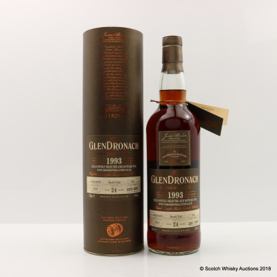 GlenDronach 1993 24 Year Old Single Cask #655 For Green Welly Stop