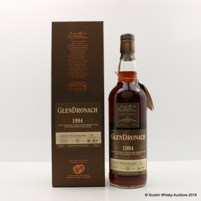 GlenDronach 1994 21 Year Old Single Cask #339