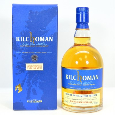 Kilchoman Single Cask Feis Ile 2011