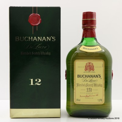 Buchanan's De Luxe 12 Year Old 1L
