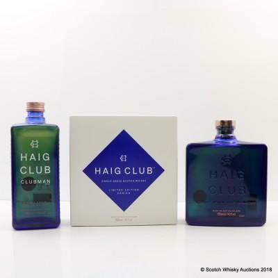Haig Club Single Grain & Clubman
