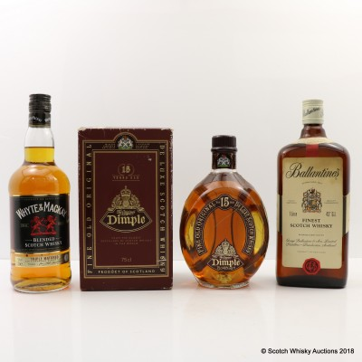 Assorted Blends x 3 Including Ballantine's Finest