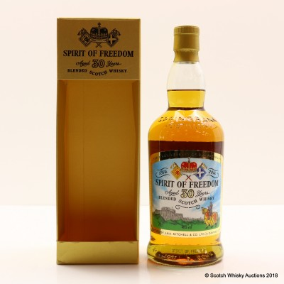 Spirit Of Freedom 30 Year Old Cadenhead's