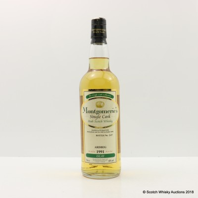 Ardbeg 1991 Montgomerie's Single Cask #1018