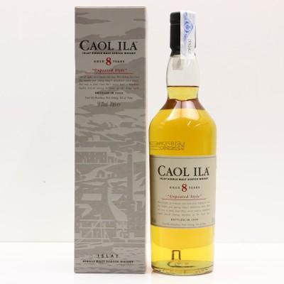 Caol Ila 8 Year Old Unpeated 2006 Release