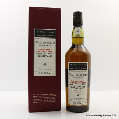 Talisker 1994 Managers' Choice