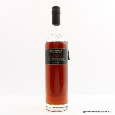 Lost Spirits Abomination Chapter Two 'Sayers Of The Law' 75cl