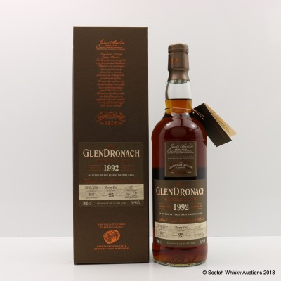 GlenDronach 1992 25 Year Old Single Cask #127