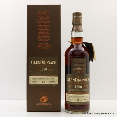 GlenDronach 1990 20 Year Old Single Cask #3068