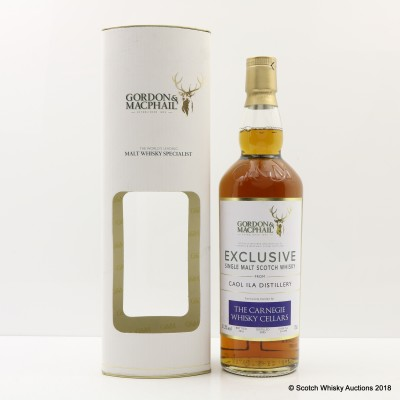 Caol Ila 2005 Gordon & MacPhail Exclusively for Carnegie Whisky Cellars