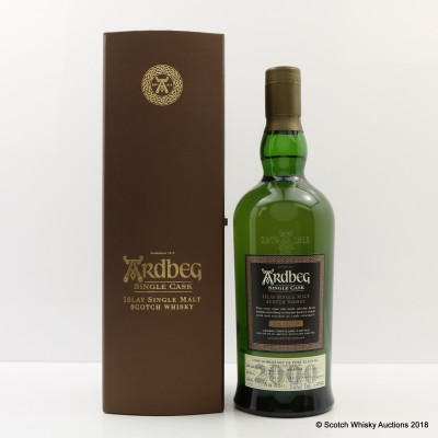 Ardbeg 2000 Single Cask #1217 Lord Robertson Of Port Ellen KT