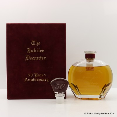 Speyside 25 Year Old Golden Jubilee 50th Anniversary Decanter