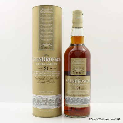 GlenDronach 21 Year Old Parliament