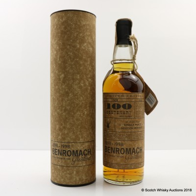 Benromach-Glenlivet 17 Year Old Centenary Limited Edition