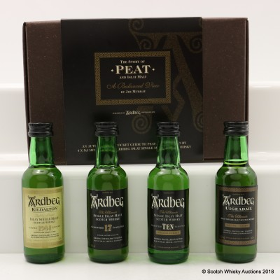 Ardbeg The Story Of Peat 4 x 5cl