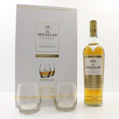 Macallan Gold & Glasses Limited Edition Gift Set
