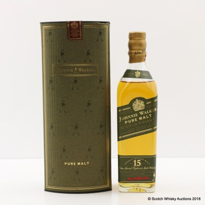 Johnnie Walker 15 Year Old Pure Malt 20cl