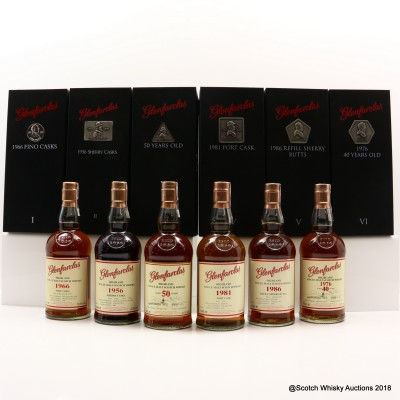 Glenfarclas Family Collector Series 6 x 70cl