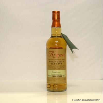 Arran Founder's Reserve 10 years old