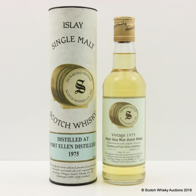 Port Ellen 1975 23 Year Old Signatory 35cl
