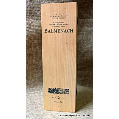 F&F Balmenach 12