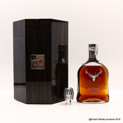 Dalmore 40 Year Old 2017 Release