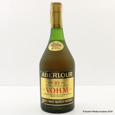 Aberlour 10 Year Old V.O.H.M 4/5 Quart