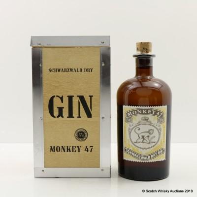 Monkey 47 Gin Distiller's Cut 2017 Release 50cl