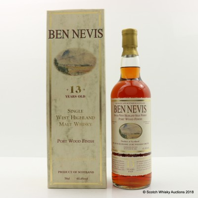 Ben Nevis 1990 13 Year Old Port Wood Finish