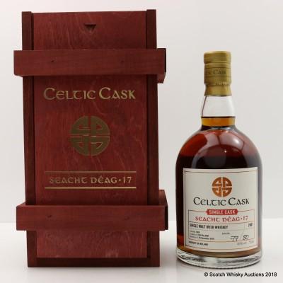 Seacht Deag 2001 15 Year Old Irish Single Malt Celtic Cask