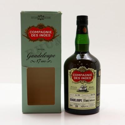 Bellevue 1998 17 Year Old Guadeloupe Rum Compagne Des Indes