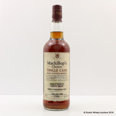 Highland Park 1988 14 Year Old Mackillop's Choice 75cl