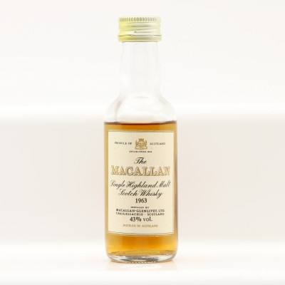 Macallan 1963 Mini 5cl