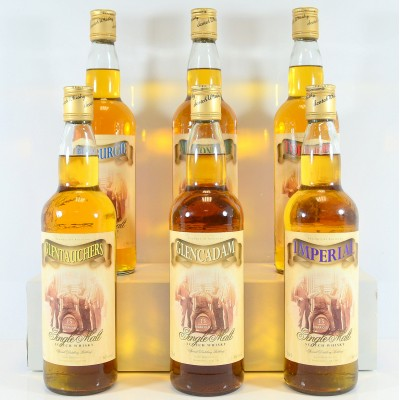 Allied Distillers Special Distillery Bottlings x 6