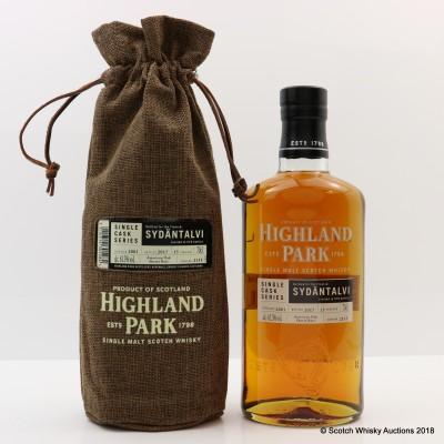 Highland Park 2001 15 Year Old Single Cask #2155 For Sydantalvi