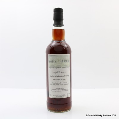 Tullibardine 2005 12 Year Old Whisky Broker