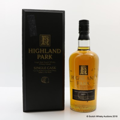 Highland Park 1983 23 Year Old Single Cask #691 For Green's 75cl