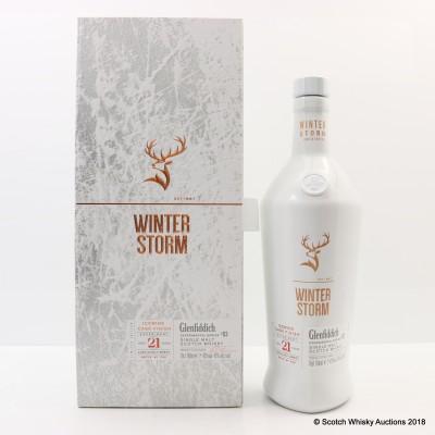 Glenfiddich 21 Year Old Winter Storm Batch #2