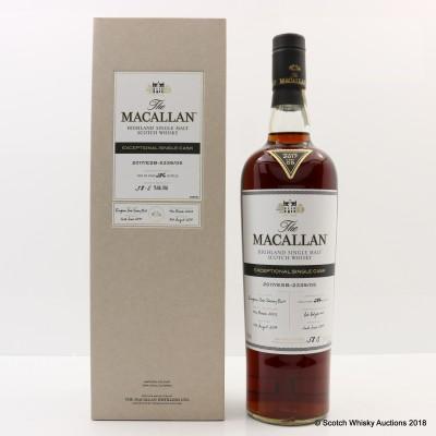 Macallan 2002 Exceptional Cask #05 2017 Release 75cl