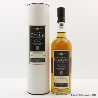 Clynelish 12 Year Old Friends Of The Classic Malts 2009 Release