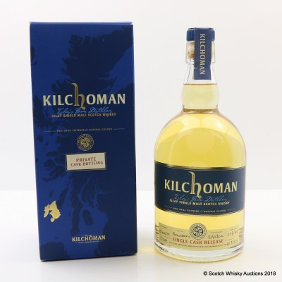 Kilchoman 2006 Private Cask Bottling