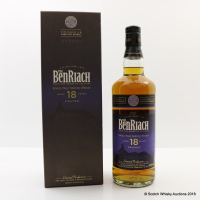 BenRiach 18 Year Old Dunder