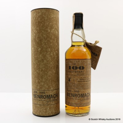 Benromach 17 Year Old Centenary Bottling
