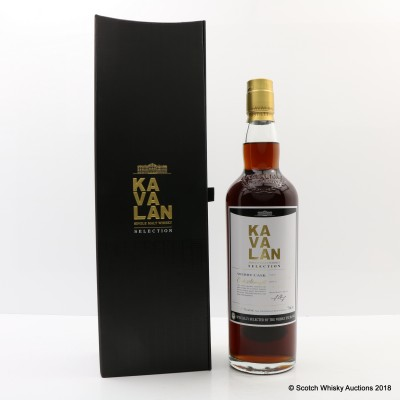 Kavalan Selection Sherry Cask For The Whisky Exchange