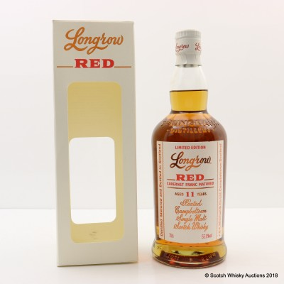 Longrow 11 Year Old Red Port Cask