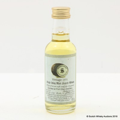 Port Ellen 1975 23 Year Old Signatory Mini 5cl