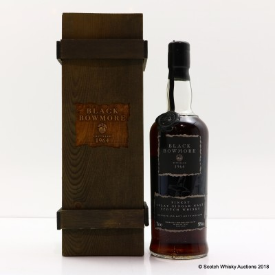 Bowmore Black 1964 1st Edition